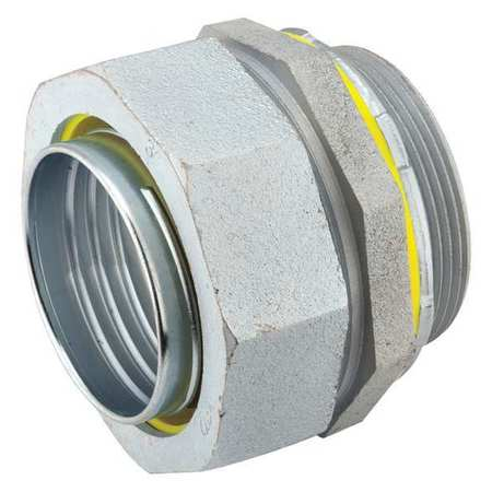 Noninsulated Connector 1 In. Steel by USA Raco Electrical Conduit Fittings