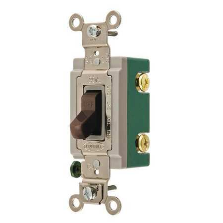 Wall Switch 30A Brown 2 Pole Type Toggle by USA Bryant Electrical Wall Switches