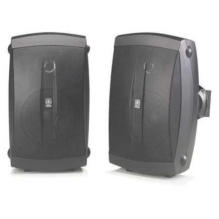 Outdoor Speakers Indoor/Outdoor Black by USA Yamaha Audio Speakers