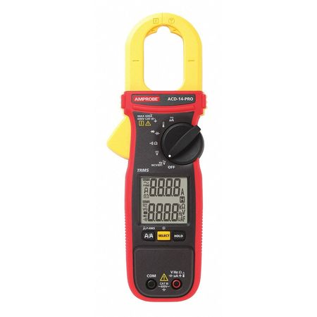 Clamp Meter TRMS Dual LCD by USA Amprobe Electrical Clamp Meters