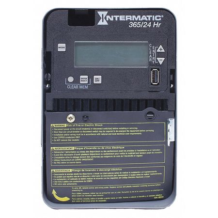 Electronic Timer 24 hr./365 Days 20A by USA Intermatic Electronic Timers
