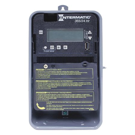 Electronic Timer 24 hr./365 Days 30A Model ET2125CR by USA Intermatic Electronic Timers