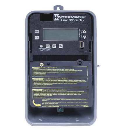 Electronic Timer Astro 7/365 Days 30A Model ET2825CR by USA Intermatic Electronic Timers