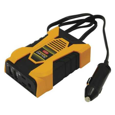 Plug In verter 1 AC 2 USB 120W by USA Powerdrive Electrical Power Inverters