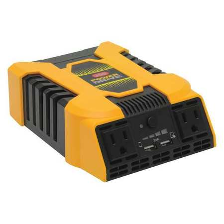 Power Inverter DC to AC 12V 300W by USA Powerdrive Electrical Power Inverters
