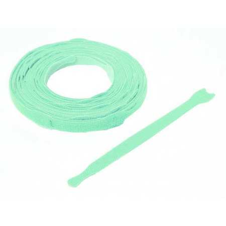 """8"""" L Reclosable Fastener Aqua PK 45 by USA Velcro Electric Cable Ties"""