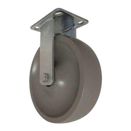 """RWM Rigid Plate Caster Nylon 8"""" 1800 lb."""