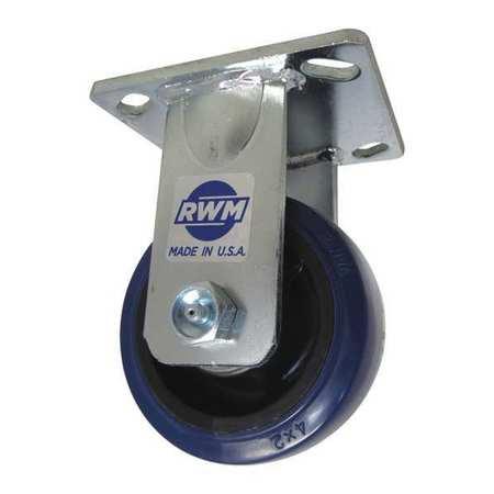 RWM Rigid Plate Caster 600 lb.