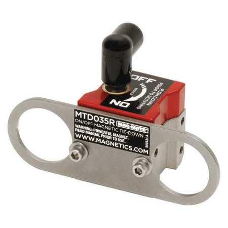 "Mag-Mate Magnetic Tie-Down 2-3/4"" H 4-1/8"" L"
