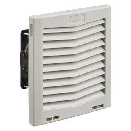 "Filter Fan Plastic 8.19"" H x 8.21"" L by USA Hoffman Voice & Data Communication Cabinets"