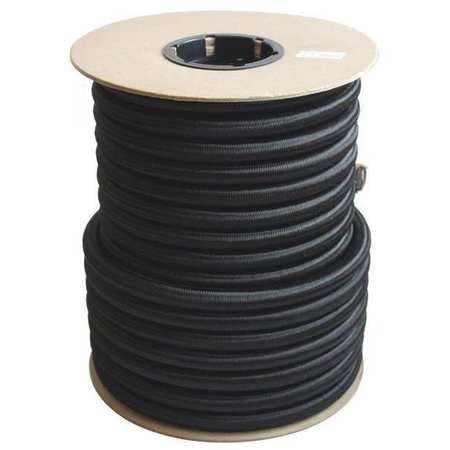 Bulk-Strap Bungee Cord 100 ft L Polypropylene Black