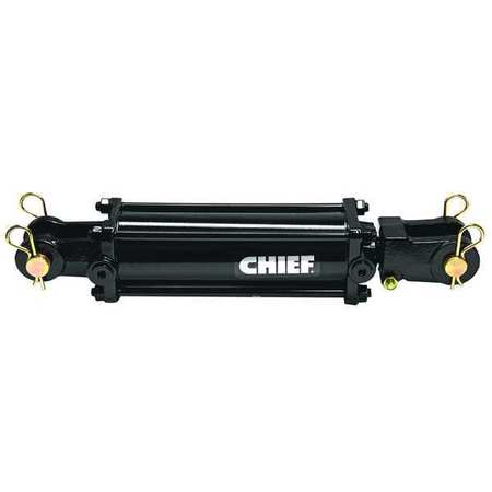 Maxim Double Acting Tie Rod Style Hydraulic Cylinder 2 Bore Dia. - 218-297 4 Stroke In. In.