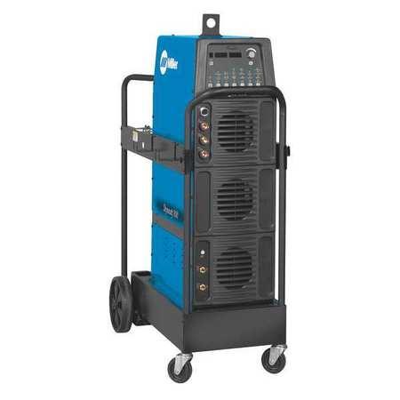 """TIG Welder,370 lb Power Weight,43-3/4""""""""D -  MILLER ELECTRIC, 907719001"""