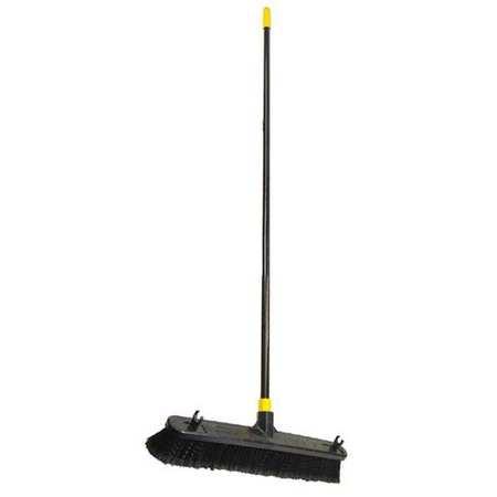 18 Broom W Push Broom 60 Handle L