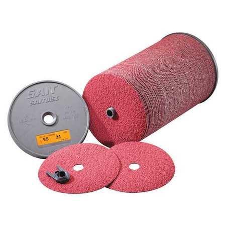 100 Pack 9S 7 X 7//8 80X Bulk Disc United Abrasives-SAIT 59153 SAIT Fiber Disc