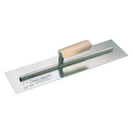 Kraft Tool Cement Finish Trowel Wood Hndl 14x4.75