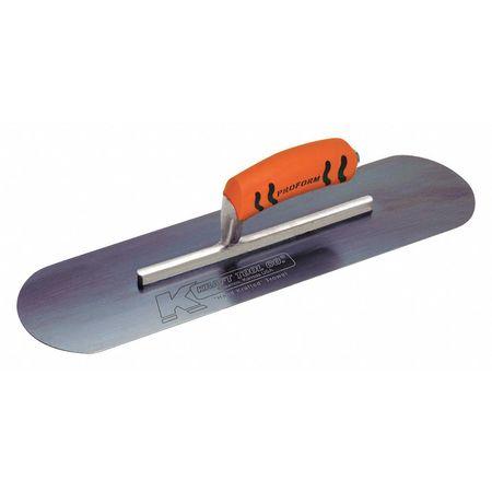 "Kraft Tool Pool Trowel Pro Form 7 7/8"" Shank 16x3"