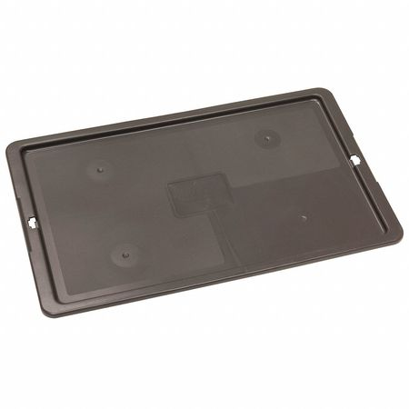 Lid,straight Wall Container,24x15,gray