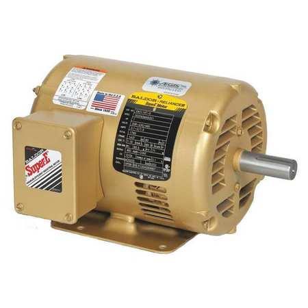 Motor .75HP 3450rpm 3PH 60Hz 56 ODP by USA Baldor General Purpose AC Motors
