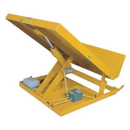Vestil Lift Table 2K 36x48 Yellow 115V 1 Phase Type UNI-3648-2-YEL 115-1