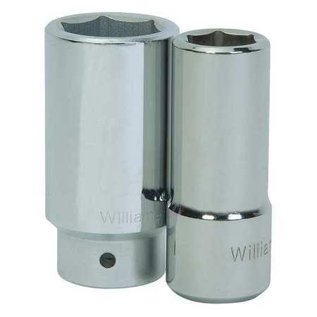 "Williams Deep Socket 3/4"" D 6Pt 27mm"