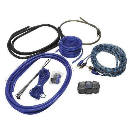 Amplifier Installation Kit 8 ga. by USA Mobilespec Data & Communication Test Equipment