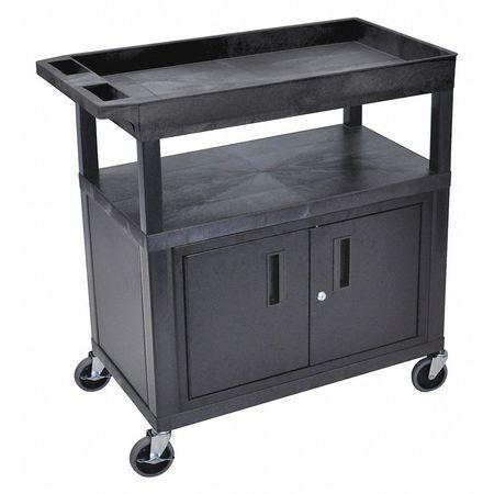 Luxor Cart (2) Flat 1 Tub Shelf w/Cab Cord