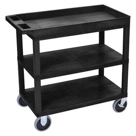 "Luxor Cart (2)Flat with 1 Tub Shelf 18""x32 Type EC122HD-B"