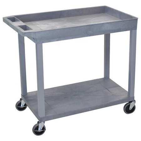 "Luxor Cart 1 Tub n 1 Flat Shelf 18""x32 Type EC12-G"