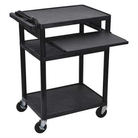 Luxor Cart (3) Shelf with Pull Out Shelf