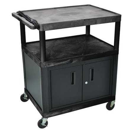 Luxor Cart (3) Shelf Presentation w/Cabinet