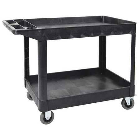 Luxor Utility Cart (2) Shelf Heavy Duty SP5