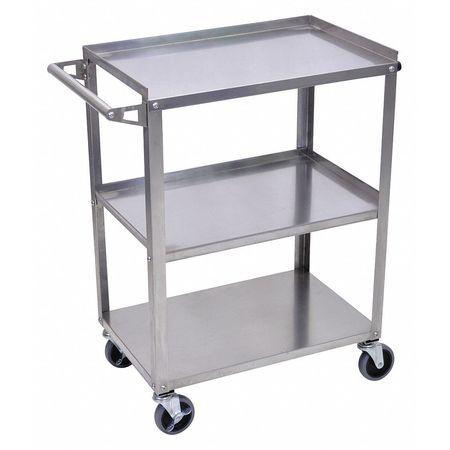Luxor Cart (3) Shelf Stainless Steel