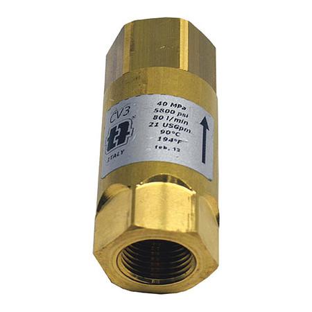 CDI CONTROL DEVICES P7575-1EP Valve,Check,3//4x3//4in