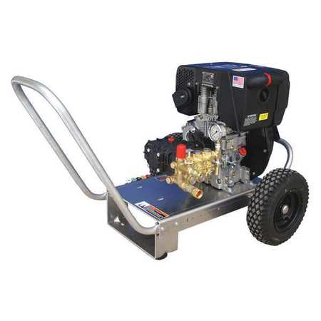 Pressure Washer 4 gpm 3000 psi 10 HP by USA Cam Spray Electrical Conduits