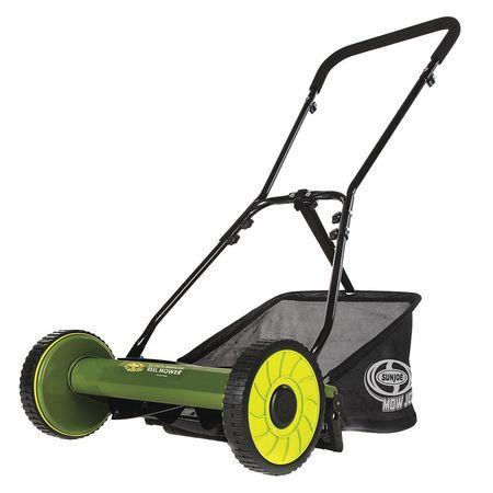 Manual Mower,w/Grass Catcher,16