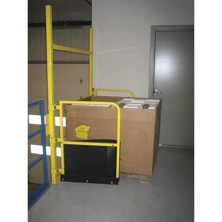 """PS Pallet Safety Gate 96"""" Yellow"""