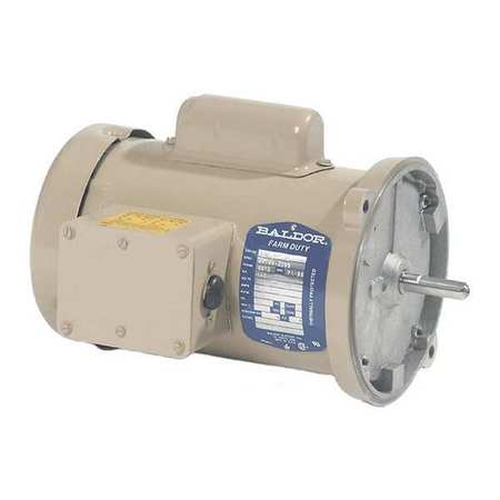 Drive Motor 1 HP 1725 rpm 1 Phase 60 Hz by USA Baldor AC Farm Duty Motors