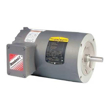 Motor 1/3 HP 3450 rpm 3 Phase by USA Baldor General Purpose 3 Phase AC Motors