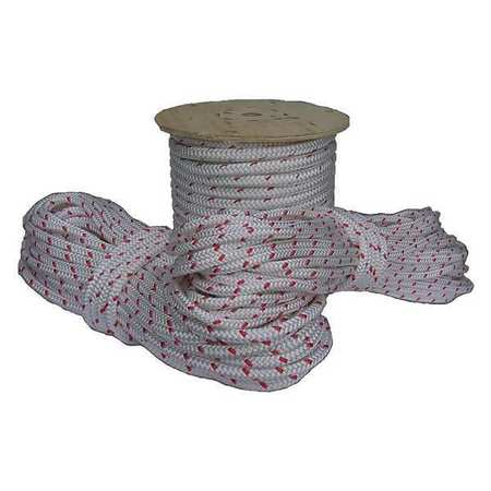 All Gear Climbing Line White/Red 12 Strand