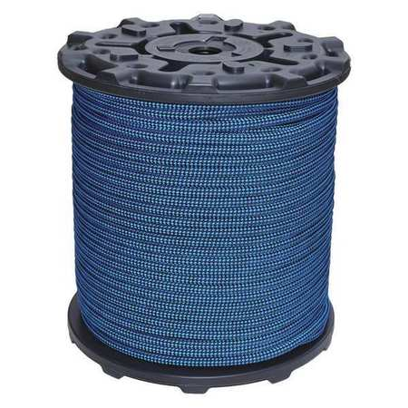All Gear Climbing Line Blue/Black 32 Strand Type AGKMC716600BB