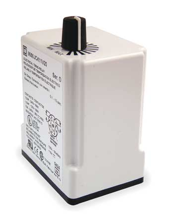 Time Delay Rlay 120VAC 10A DPDT 0.3 sec. by USA Square D Electrical Time Delay Relays