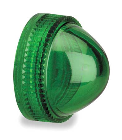 Pilot Light Lens 30mm Green Plastic Model 9001G9 by USA Schneider Electrical Pushbutton Accessories