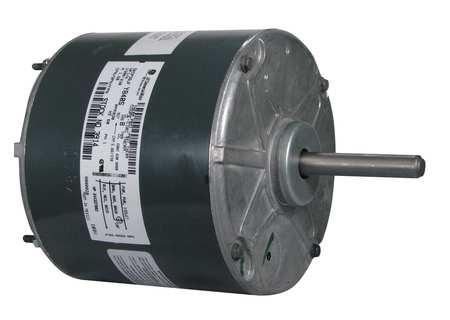 Mtr PSC 1/4 HP 830 RPM 208 230V 48 TENV by USA Genteq Permanent Split Capacitor Condenser Fan Motors