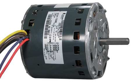 Motor PSC 1/3 HP 900 RPM 200 230V 48 OAO by USA Genteq Direct Drive Permanent Split Capacitor Blower Motors
