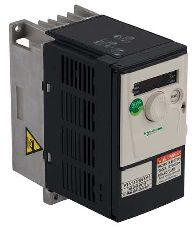 Variable Frequency Drive 1/4HP 208 240V by USA Schneider Variable Frequency Open Enclosure Drives