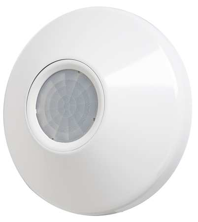 Occupancy Sensor PIR 2800 sq ft White by USA Acuity Infrared Motion Sensors