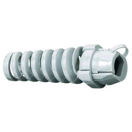 Cord Connector 3/4 in. Gray by USA Hubbell Kellems Electrical Strain Relief Connectors