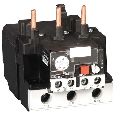 Ovrload Rely 63 to 80A Class 10 Bimetllc by USA Dayton Electrical Motor Overload Relays