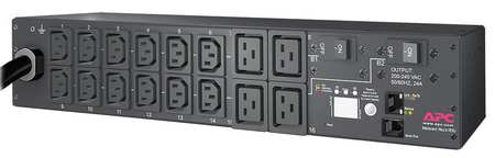 PDU 30A 16 Outlet 12 ft Black by USA APC Schneider Extension Power Strips